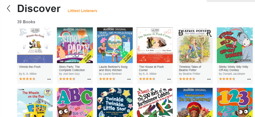 Audiobooks for Kids | blogger.com